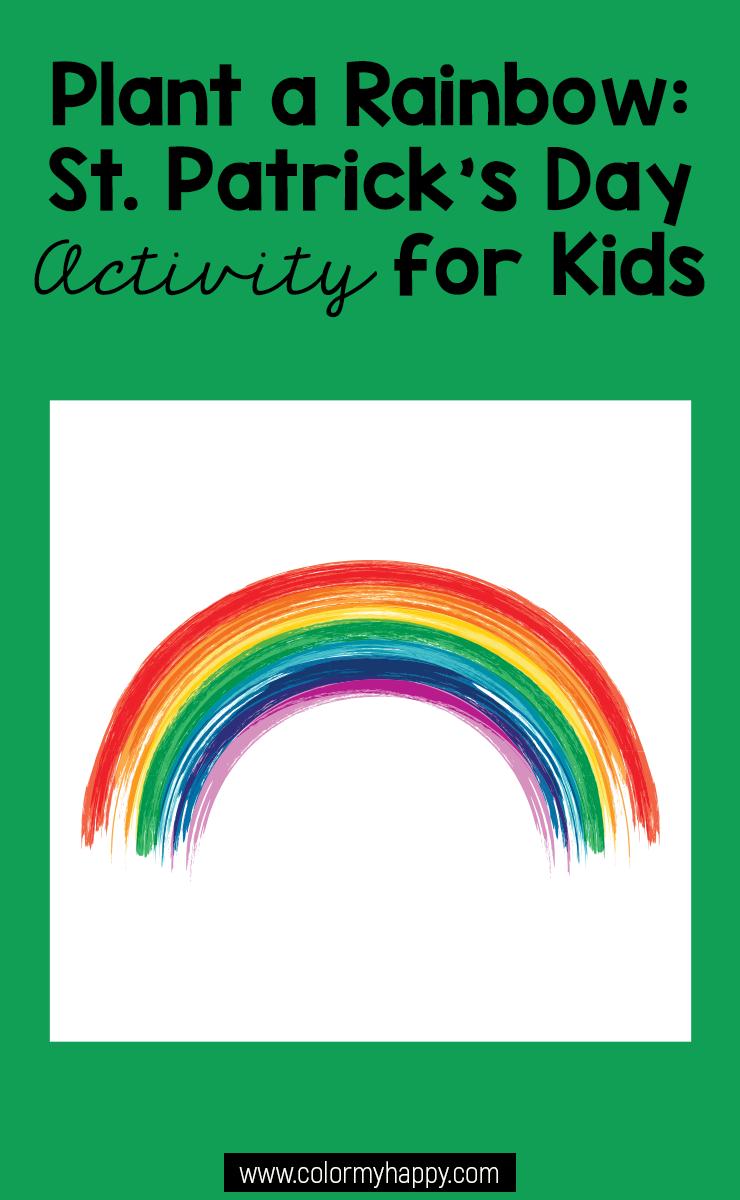 Easy Rainbow Activity For Kids Activities For Kids Rainbow
