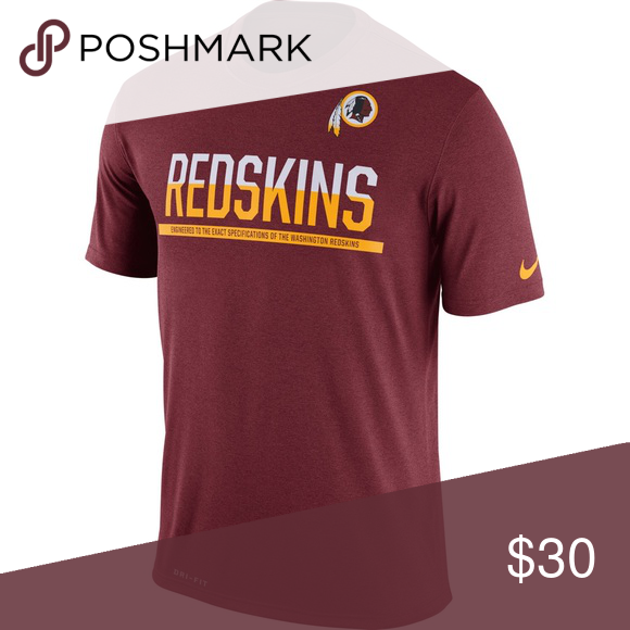 5235f16d0 NWT Men's Nike Dri-Fit Shirt NWT Men's Nike Burgundy Washington Redskins  Team Practice Legend Performance T-Shirt Nike Shirts Tees - Short Sleeve