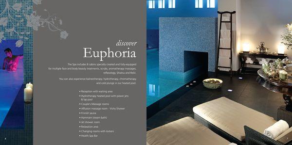 spa brochure (Capsis Hotel  Resorts) on Behance Proyectos que