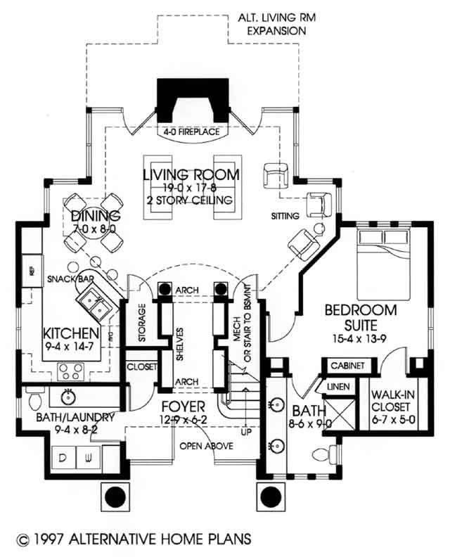 Homeplans Alternative Home Plans House Plans House Plans Apartment Floor Plans Walk In Bath