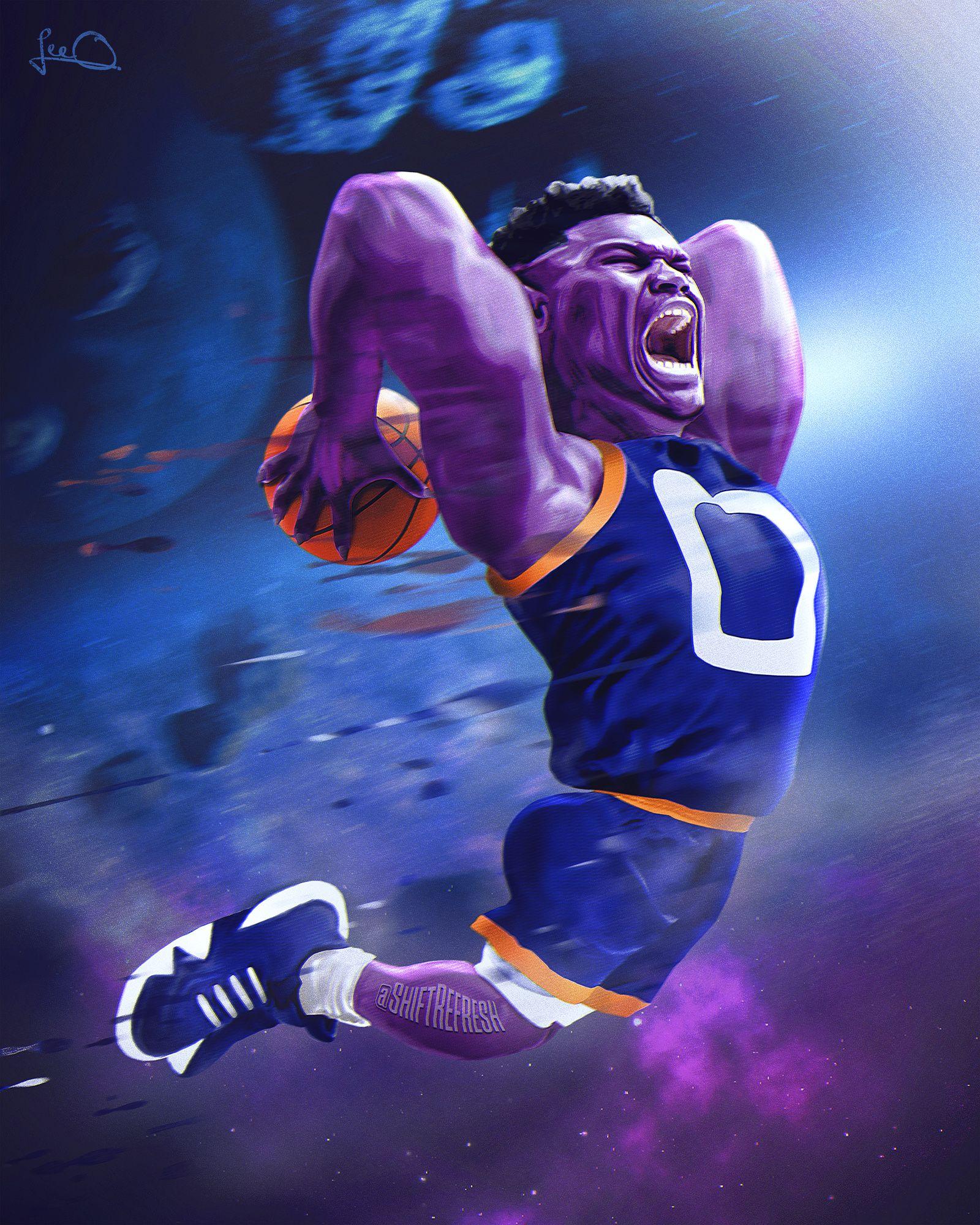 Zion Williamson Is A Monstar Shiftrefresh Basketball Players Nba Nba Basketball Art Mvp Basketball