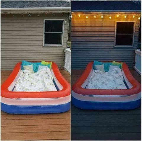 this looks like so much fun for a movie night outside with kiddos or