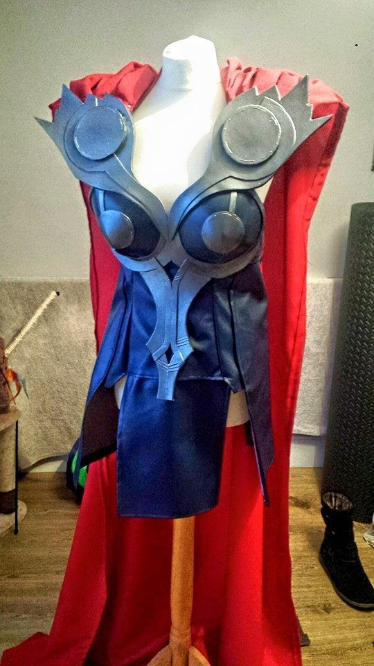 Female Thor Cosplay Progress - Cape Added Today! by Kirstie1988.deviantart.com on @DeviantArt