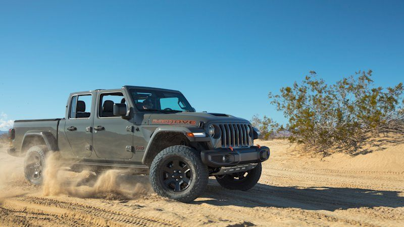 2020 Jeep Gladiator Named North American Truck Of The Year Jeep