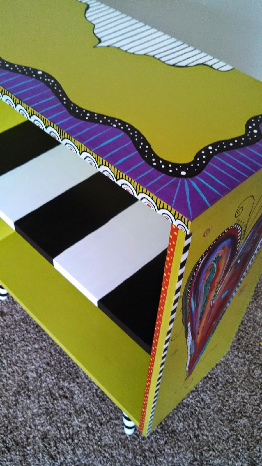Funky painted furniture ideas - Carolyn S Funky Furniture