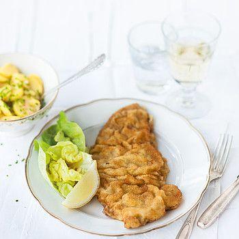The traditional Wiener Schnitzel © Österreich Werbung, Wolfgang Schardt
