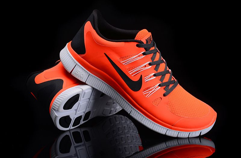 Nike Sneakers Free Running 5,0 Orange Hommes
