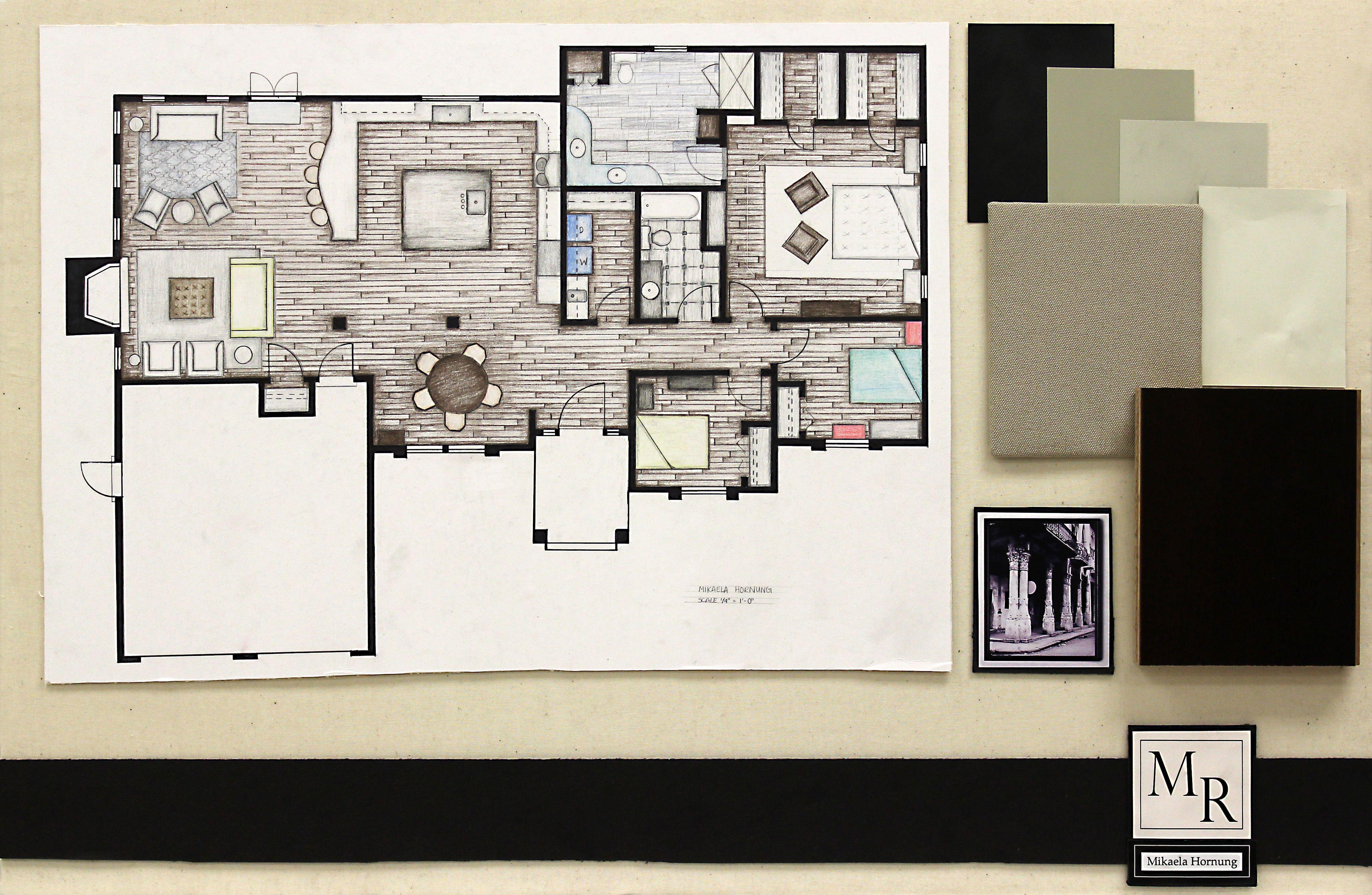 Merveilleux Interior Designer Boards Images | Interior Architecture Design Project U2013  Materials Board One