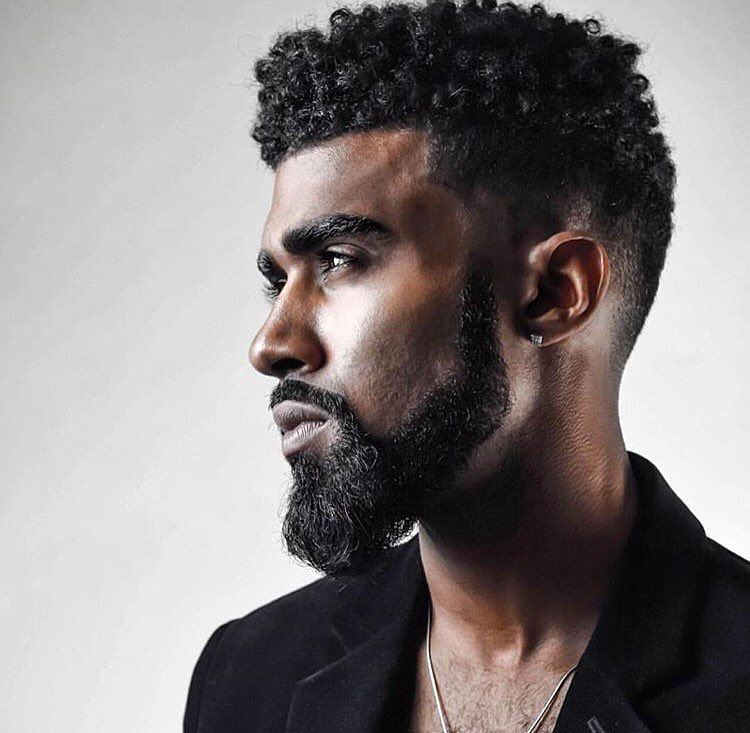 mens hair styles with beard black bearded dope hair awesome beards 4240