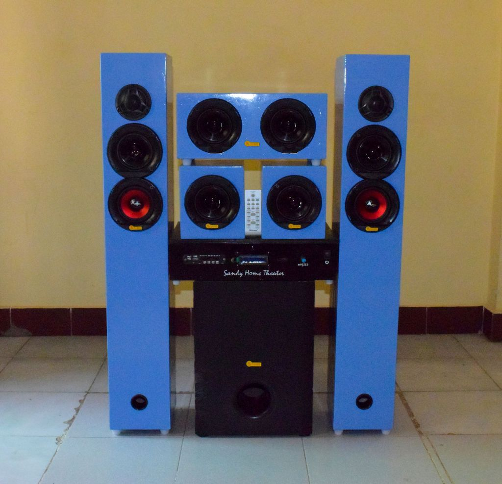 DIY 5.1 Home Theater System 700watt RMS   Home theater ...