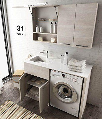 Mobile lavanderia lavatoio porta