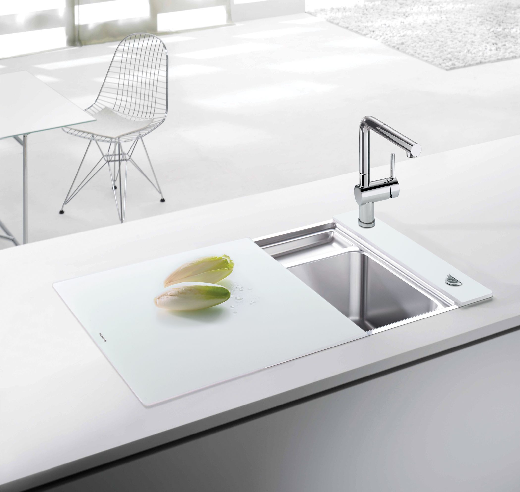 Elegant Brilliant Blanco Sinks For Kitchen Furniture Ideas: Great Blanco Sinks With  Cover And Stainless Steel