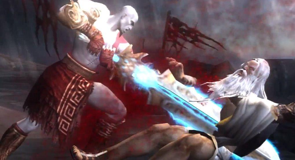 God Of War 2 Kratos Vs Zeus Buscar Con Google God Of War