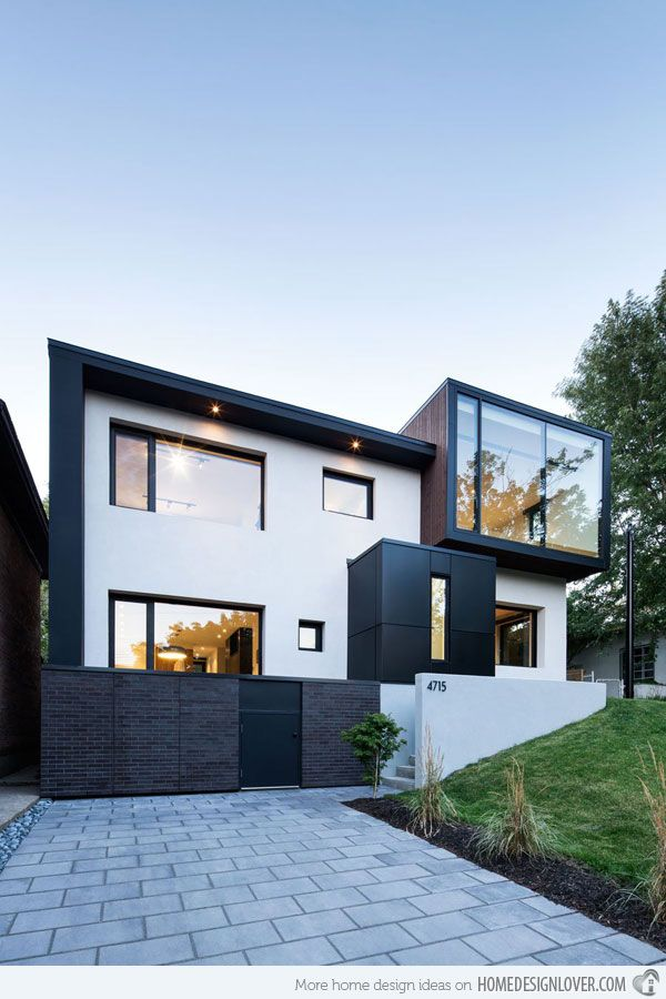 The Renovated Connaught Residence In Montreal Canada Modern House Design Modern Architecture Architecture Design