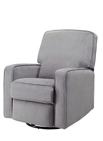 Amazon Com Pulaski Sutton Swivel Glider Recliner Zen Grey With