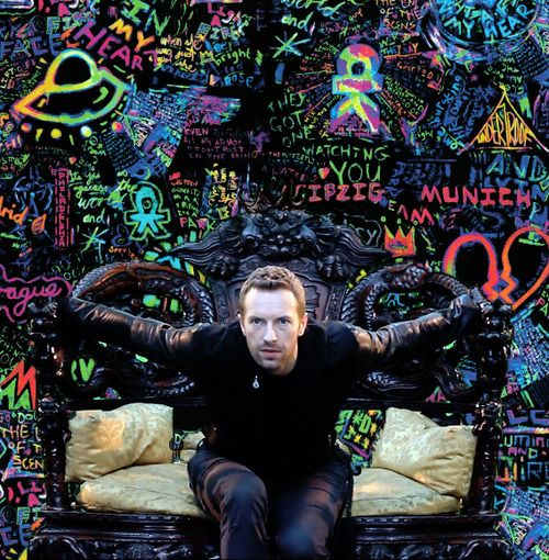 Mylo Xyloto! OMG one of the best pictures of Chris I've ever seen! <3