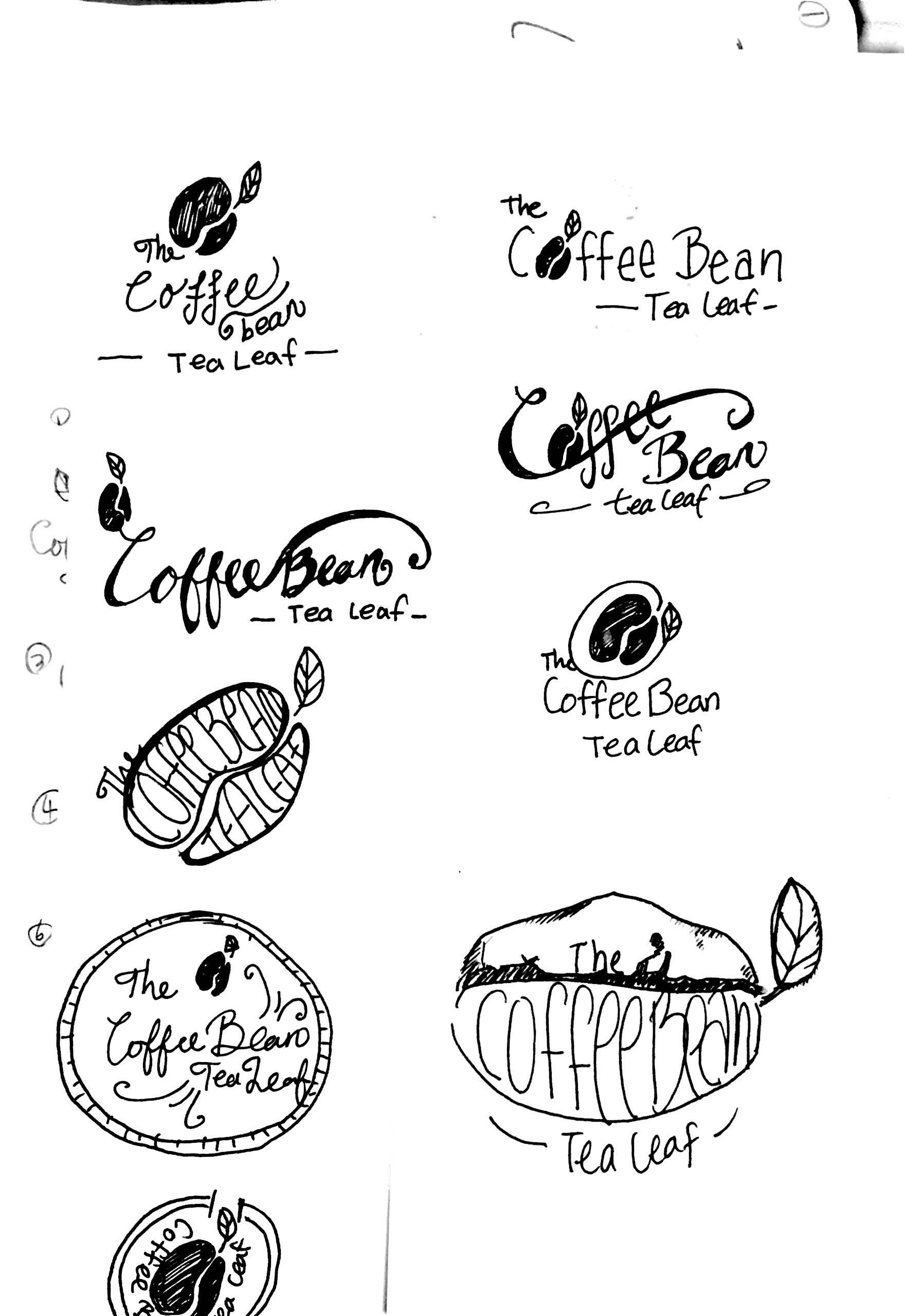 Coffee Beans Isolated With Copyspace For Text, Coffee