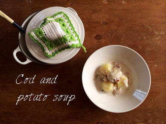 鱈-タラ-を牛乳で煮る … ということ - plat du jour*