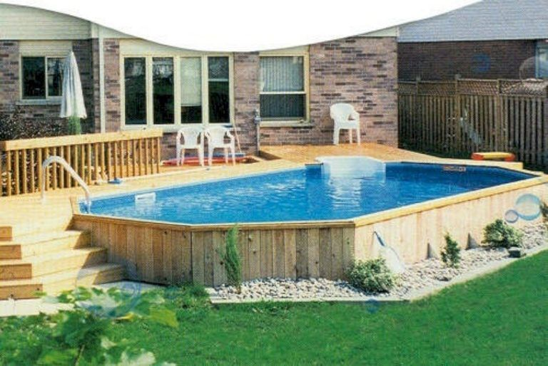 Top 34 Diy Above Ground Pool Ideas On A Budget Backyard Pool Best Above Ground Pool Backyard Pool Designs