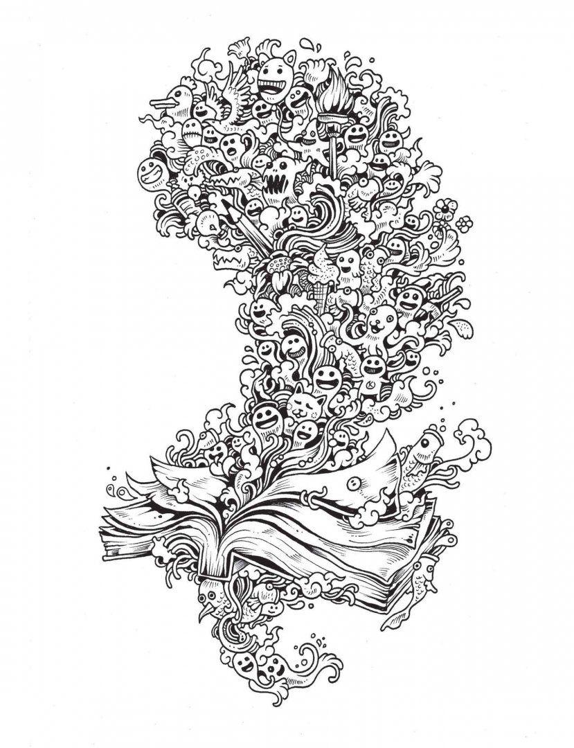 Иллюстрация 8 из 107 для Вторжение дудлов. Не самая ...