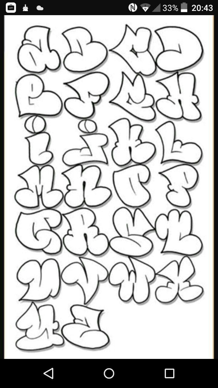 Pin by sweetness on cricut pinterest letras letras graffiti and abecedario
