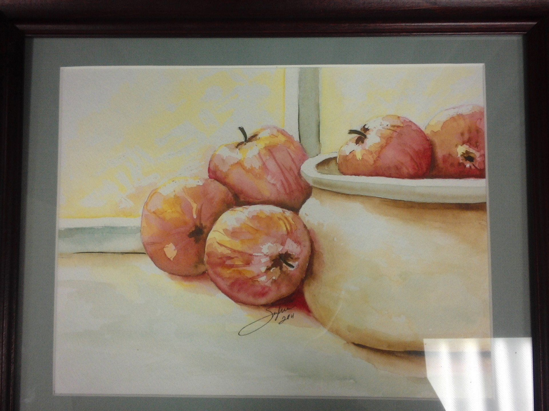 """""""Apples"""" by Sylvia"""