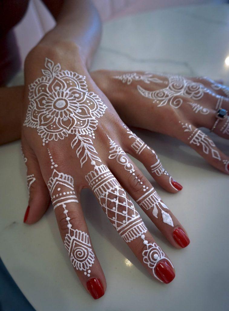 What Is White Henna Gopi Henna White Henna Henna Henna Body Art