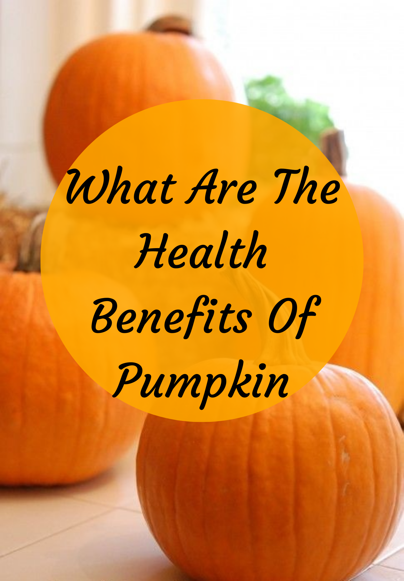 Pumpkins are an amazing source of vitamin A, an anti-aging nutrient that jump-starts your skin's cel...