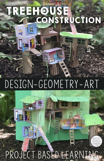 Treehouse Construction, Project Based Learning (PBL) Print ...