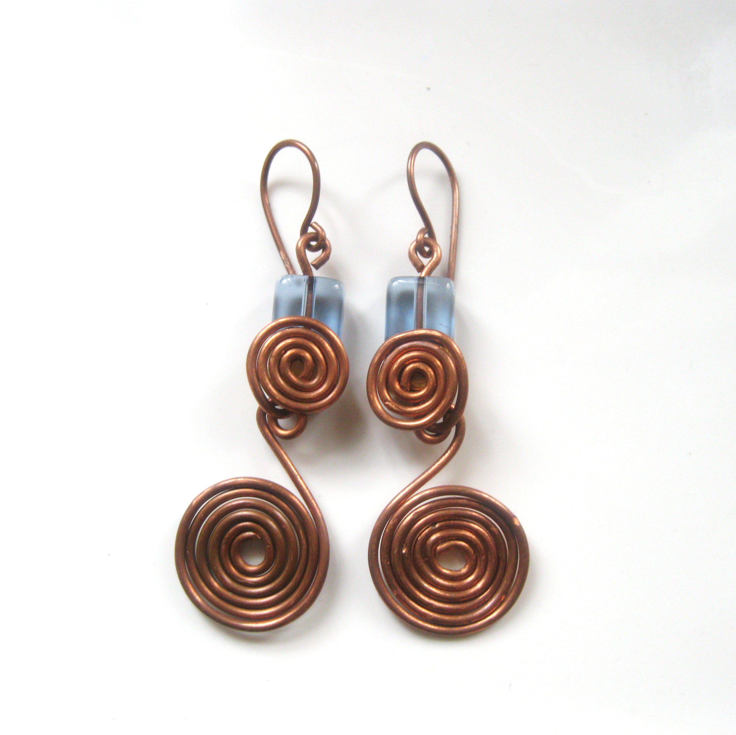 Wire Jewelry, Wire Work, Jewelry Inspiration, Wire Ideas, Handmade ...