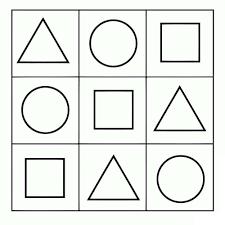 Resultado de imagen de formas geometricas | Dibujos, laminas ...