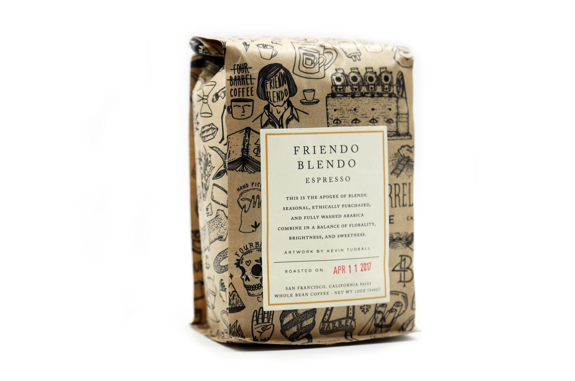 Nice package four barrel coffee in san francisco coffee