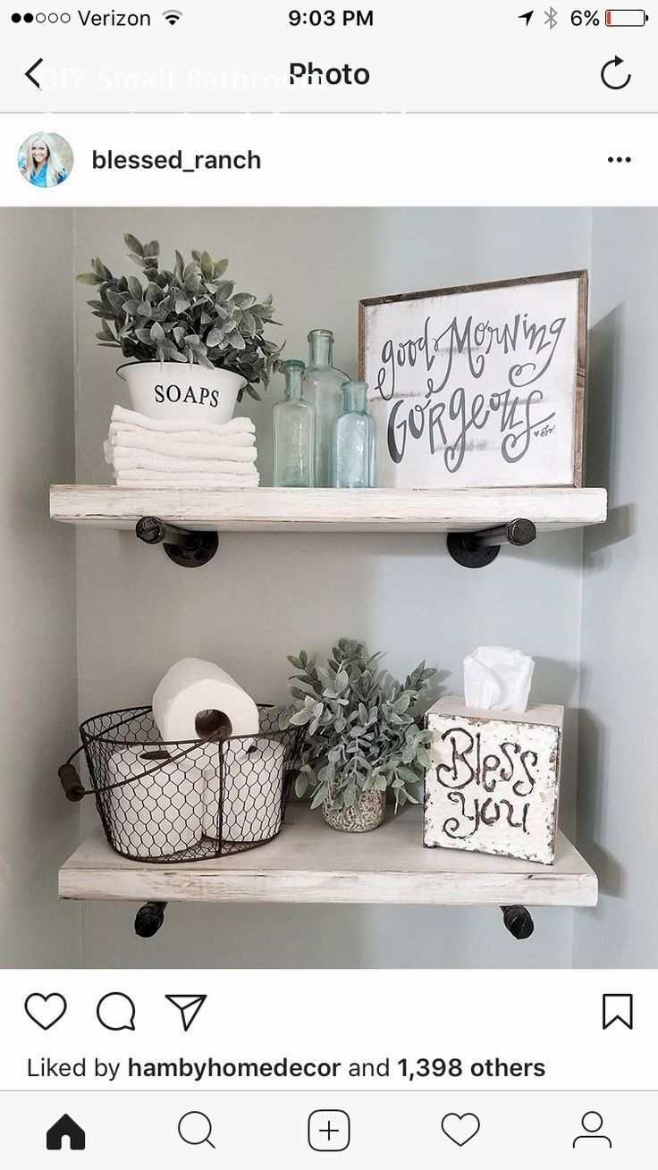 Photo of Amazing little bathroom that decorates tips and tricks: 2. How the tr …