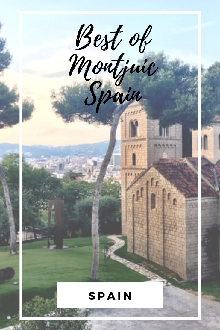 Get our 8 must see places to explore in Montjuic, Barcelona. From castles, stunning views, parks and so much more. This place has it all. Follow our families journey through Barcelona!  #montjuic #montjuiccastle #barcelona-turisme #barcelonacity #barcelona2019 #pobleespanyol #majicfountain #majicfountainofmontjuic #palaunacional #palaunacionaldemontjuic #mnac