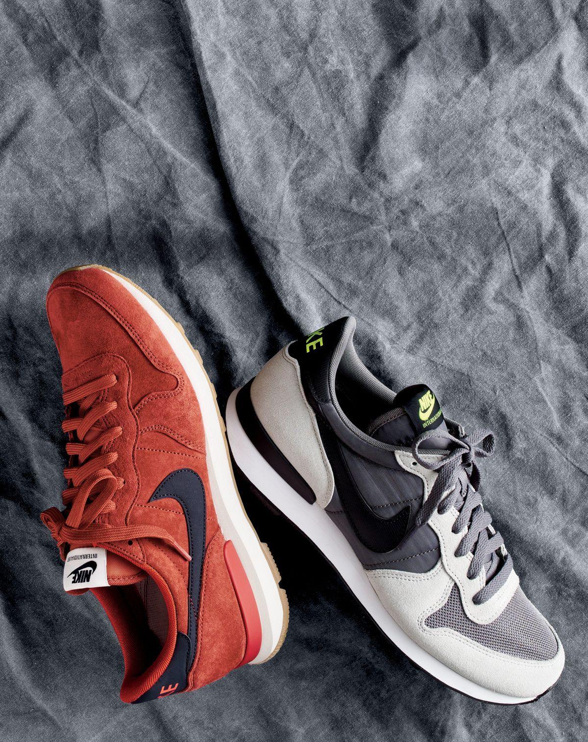 Sneakers men fashion, Nike internationalist