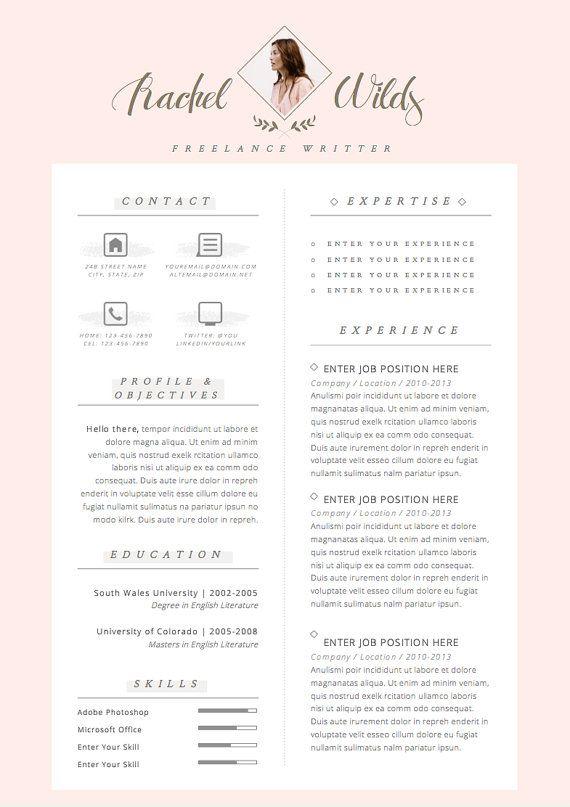 This Item Is Unavailable Etsy Resume Design Creative Resume Design Free Cv Design