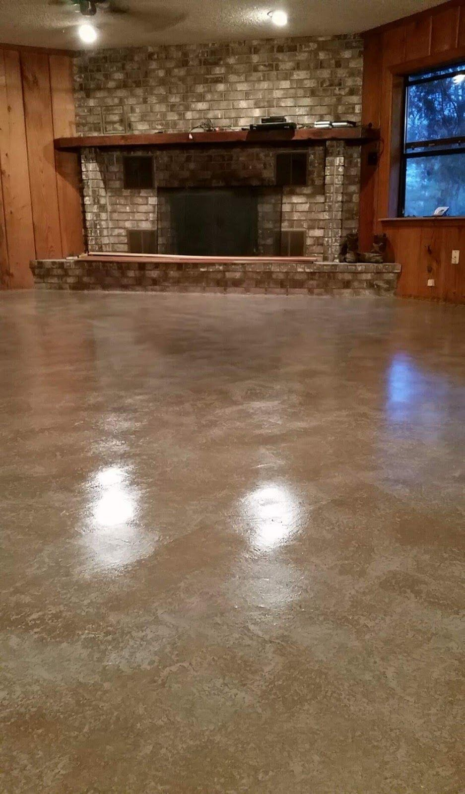 Unique Flooring for A Basement