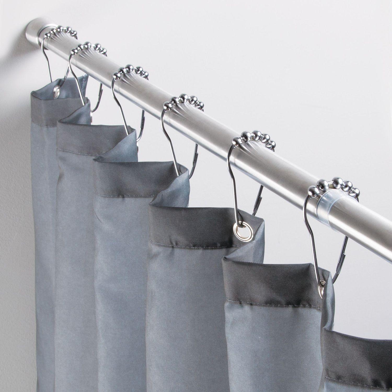 Interdesign Forma Constant Tension Bathroom Shower Curtain Rod