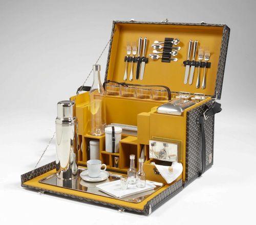 malle pic nic luxe allons donc pour un pique nique sur. Black Bedroom Furniture Sets. Home Design Ideas