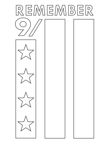 9/11 Coloring Pages - Patriots Day #patriotsdaycraftsforkids