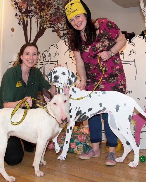 Joules staff in Salisbury raised over 400 pounds for the