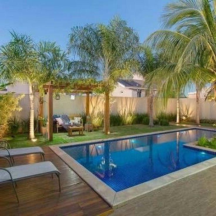 6 Beauty Tropical Garden Pool Design Ideen Fur Modernes Haus Gardendesign Gard Beauty In 2020 Garden Pool Design Swimming Pools Backyard Small Backyard Pools