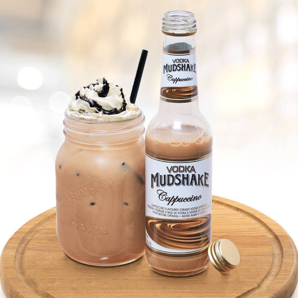 1 bottle Vodka Mudshake Chocolate 1 cup Milk Crushed ice Whip ...