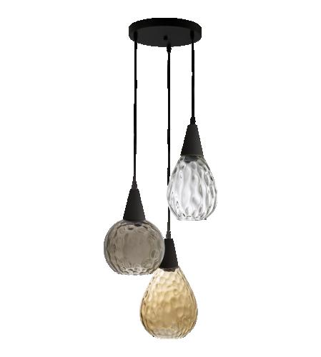 ivana suspension en verre tricolore habitat deco pinterest suspension en verre. Black Bedroom Furniture Sets. Home Design Ideas