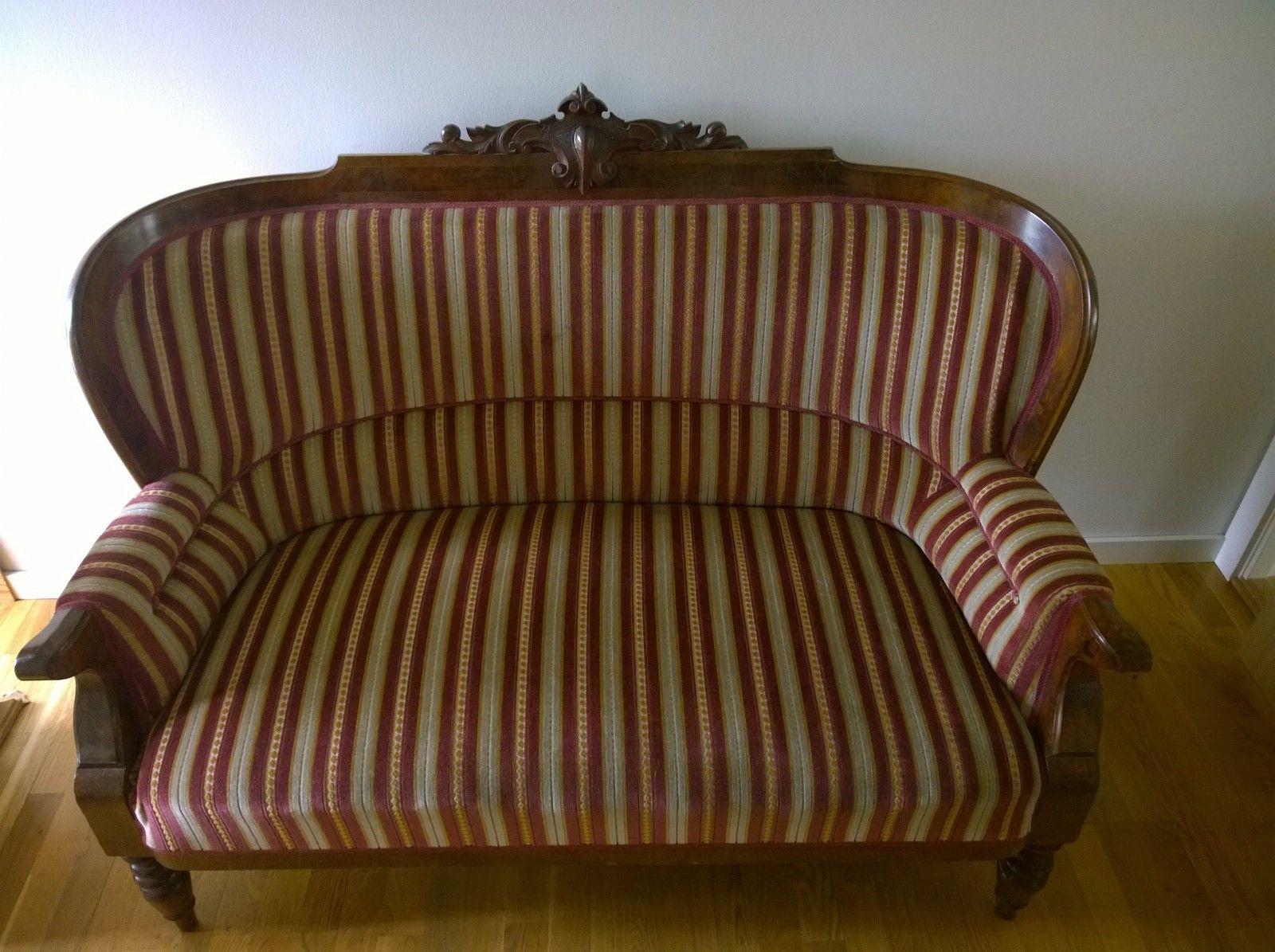 FINN – antikk sofa selges