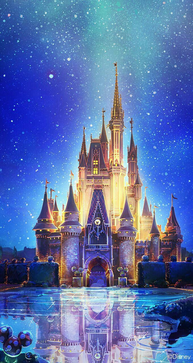 Disney s castle disney pinterest castles wallpaper and cinderella castle downloa more disney iphone wallpapers at voltagebd Images