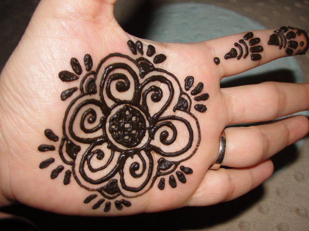 Mehndi Designs Hands Net Simple Easy : Glamorous rose flower mehndi designs sheideas