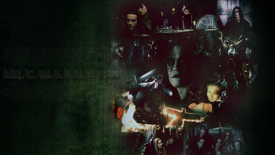 The Crow Crow Movie Crow Angel Wallpaper