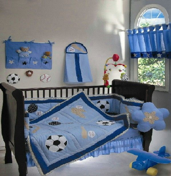 30 Colorful and Contemporary Baby Bedding Ideas for Boys | Baby ...