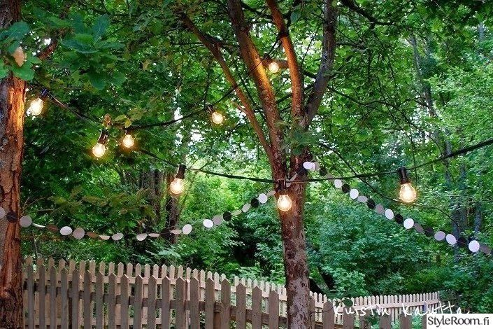 Loving the lights, fence and the amount of green!
